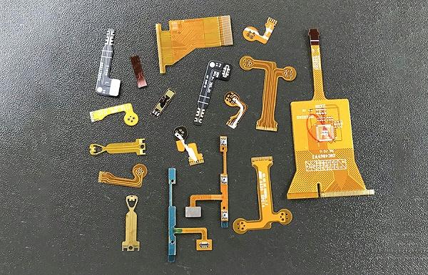 各类应用柔性振动盘的软性电路板(FPC)物料